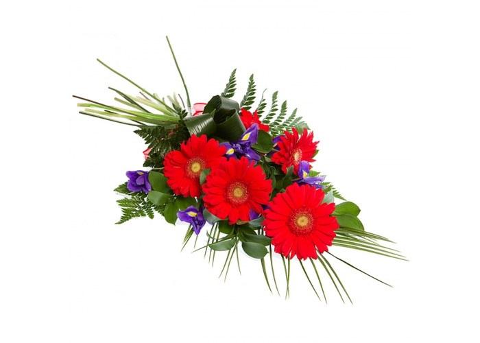 Букет из живых цветов для мужчин